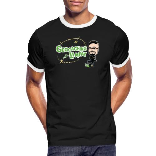 Geocaching With Lampay - T-shirt contrasté Homme