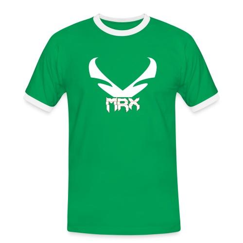 Black | MxR - Männer Kontrast-T-Shirt