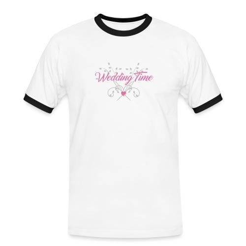 Wedding Time - Maglietta Contrast da uomo