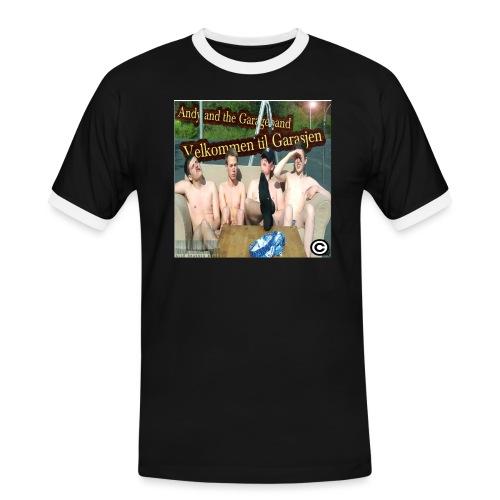 Velkommen Til Garasjen - Kontrast-T-skjorte for menn
