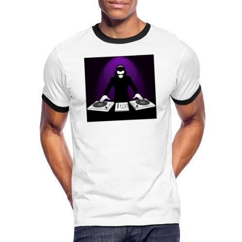 DJ Rojbin - Kontrast-T-shirt herr