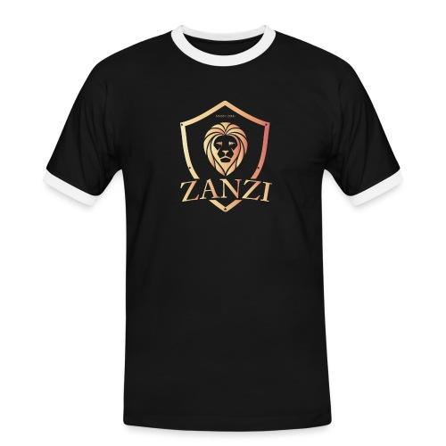 Zanzi Store - Kontrast-T-shirt herr