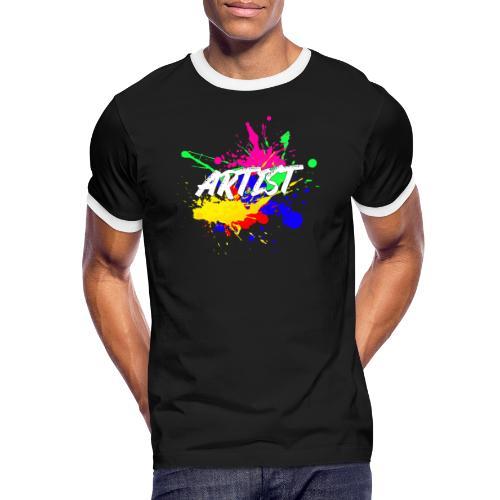 Montrez que vous êtes un Artiste International - T-shirt contrasté Homme