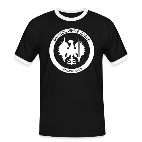 BWE ROUNDEL WHITE - Men's Ringer Shirt