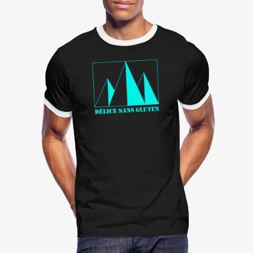 Snow Mountain ! Délice sans gluten - Men's Ringer Shirt