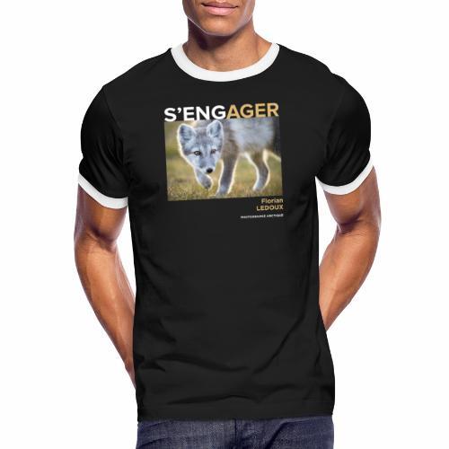 1 Achat = 1 Don à l'association Greenland Trees - T-shirt contrasté Homme