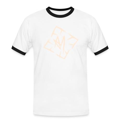 Across Yourself - Logo white transparent - Men's Ringer Shirt