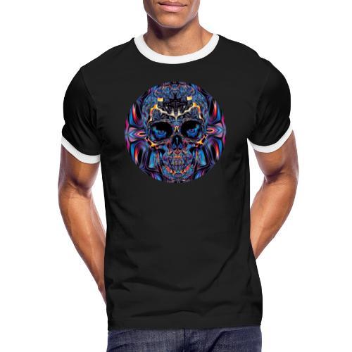 skullCOL - Männer Kontrast-T-Shirt