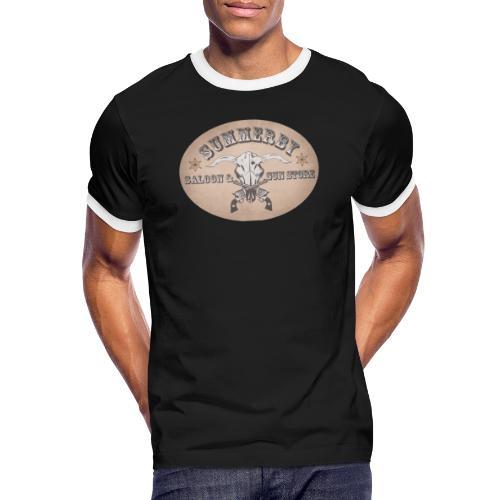 Summerby Saloon - Männer Kontrast-T-Shirt