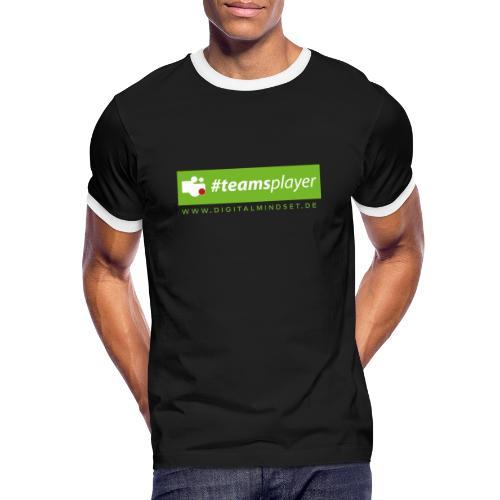 #teamsplayer - Männer Kontrast-T-Shirt