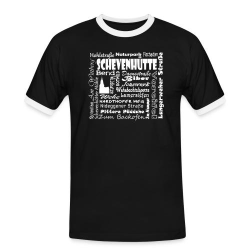 Alles in Schevenhütte - Männer Kontrast-T-Shirt