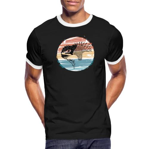 GALAPAGOS - Camiseta contraste hombre