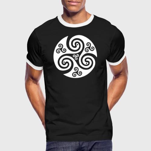 Triskel celtique - T-shirt contrasté Homme