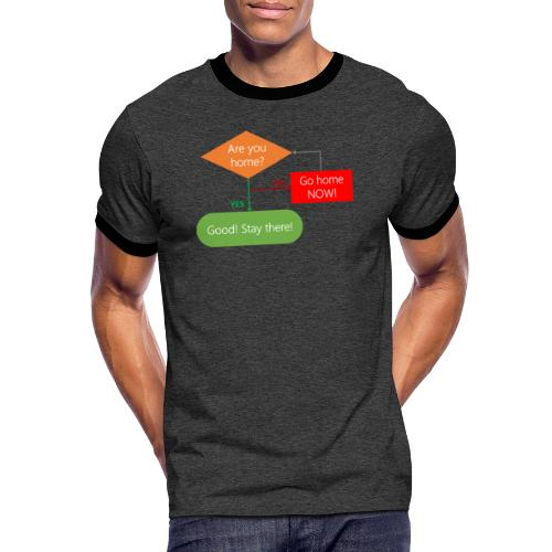 Are you home? - Men's Ringer Shirt