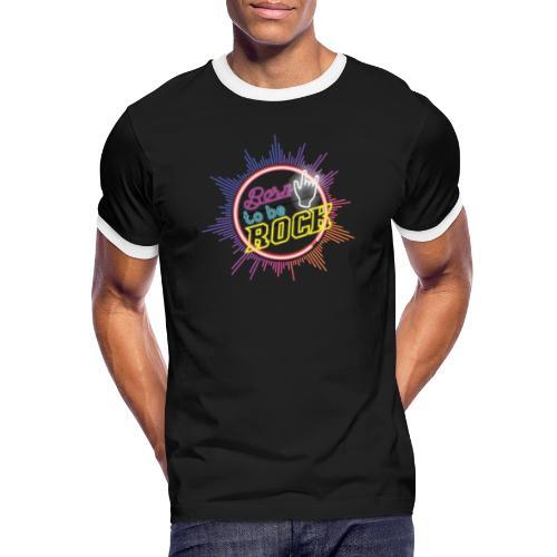 born to be rock - Men's Ringer Shirt