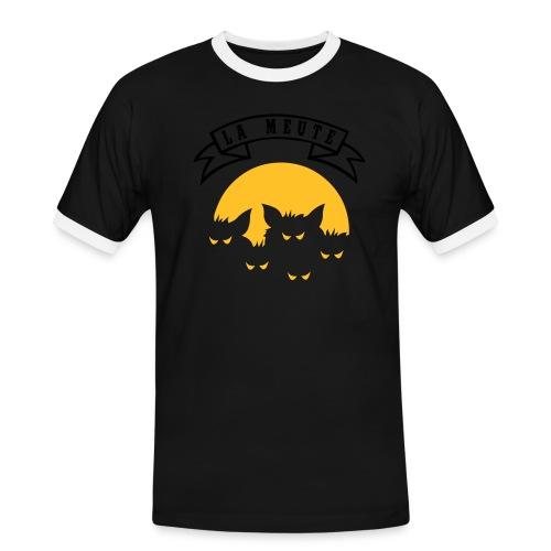 la meute - T-shirt contrasté Homme