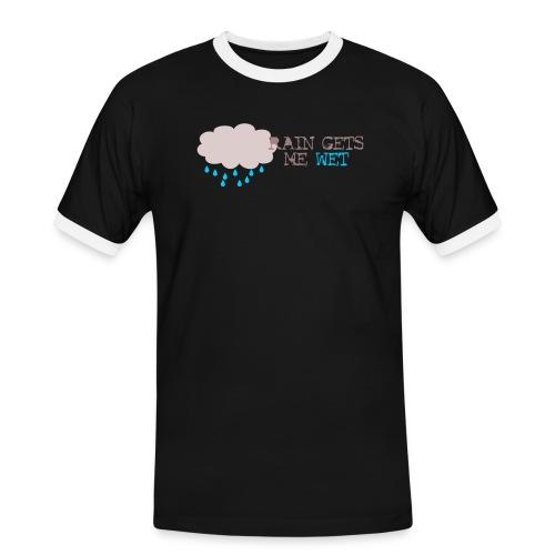 rain_gets_me_wet - Men's Ringer Shirt