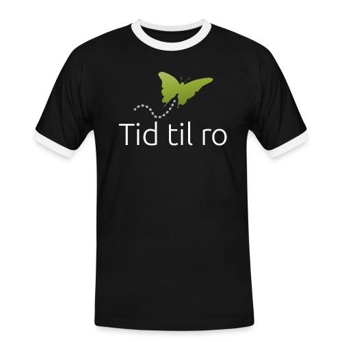 Tid til ro - Herre kontrast-T-shirt
