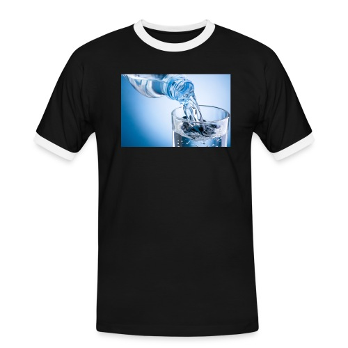 vand - Herre kontrast-T-shirt