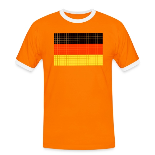 german flag.png - Maglietta Contrast da uomo