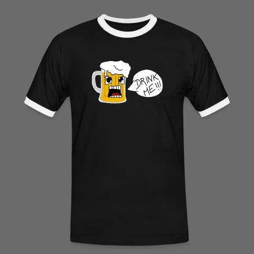 Bière - T-shirt contrasté Homme