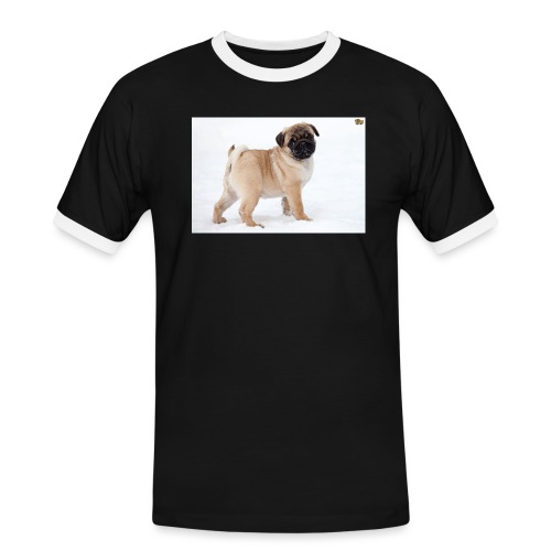walker family pug merch - Men's Ringer Shirt