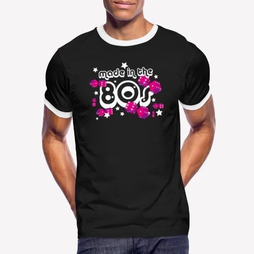 Made in the 80s - Männer Kontrast-T-Shirt