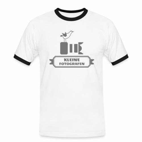 Kleine Fotografen AI SW - Männer Kontrast-T-Shirt