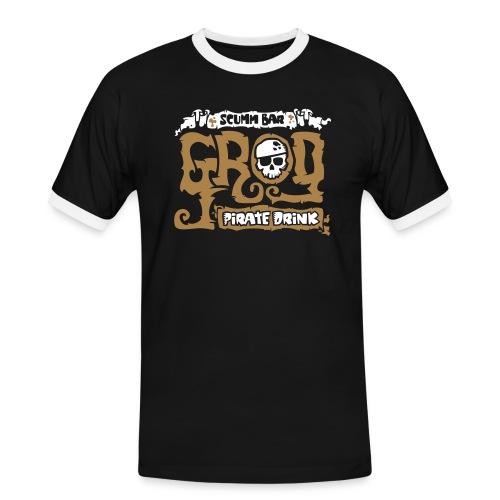 Scumm Bar Grog - Camiseta contraste hombre