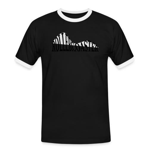 envelope_coaster - Herre kontrast-T-shirt
