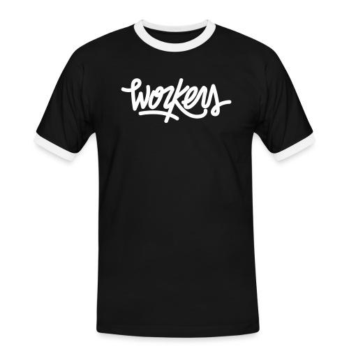 Logo WorkersBeats - T-shirt contrasté Homme