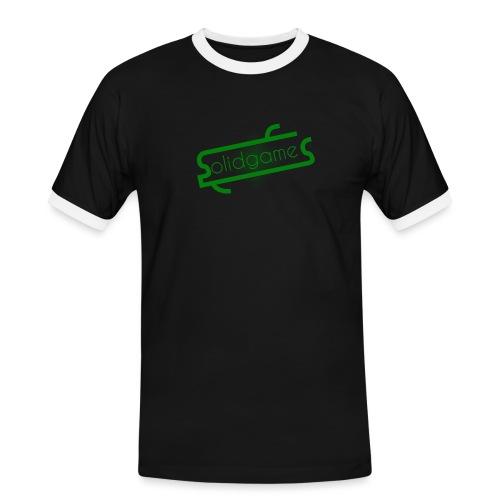Solidgames Crewneck Grey - Men's Ringer Shirt