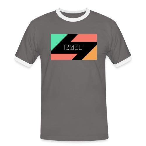Irmelis Logo glothes - Miesten kontrastipaita