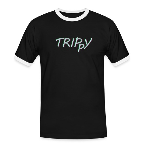 Trippy Original - Kontrast-T-shirt herr