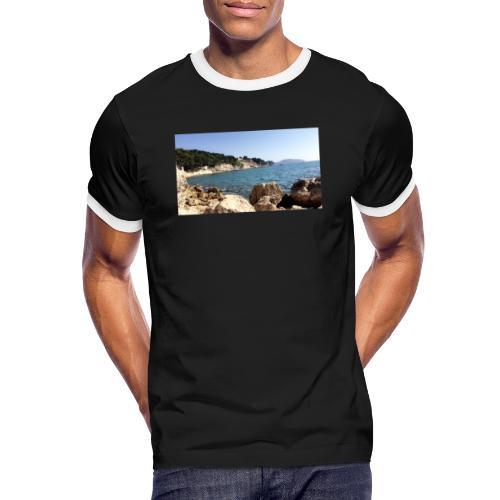 Corniche - T-shirt contrasté Homme