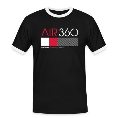 Air360black - Camiseta contraste hombre