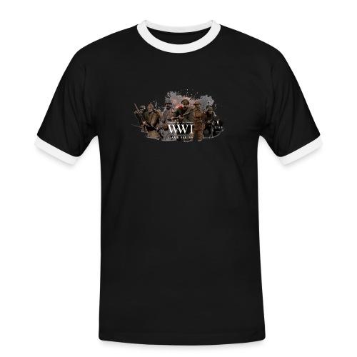 WW1 Game Series - Mannen contrastshirt