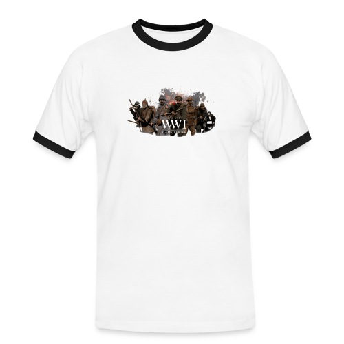 WW1 Game Series - Mannen contrastshirt