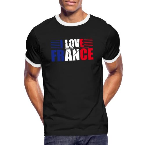 love france - T-shirt contrasté Homme