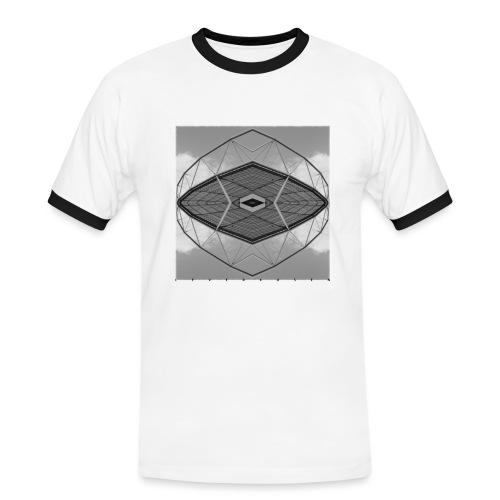 Leverkusen #4 - Männer Kontrast-T-Shirt
