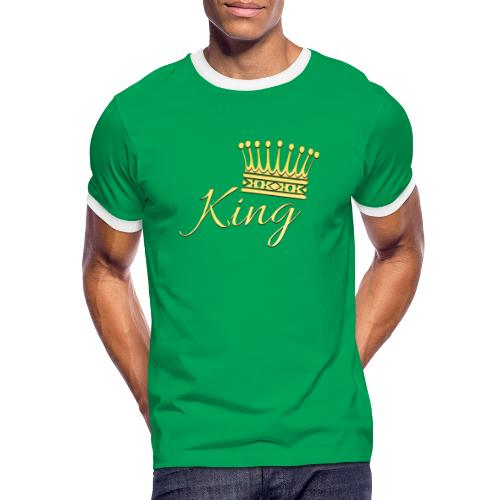 King Or by T-shirt chic et choc - T-shirt contrasté Homme