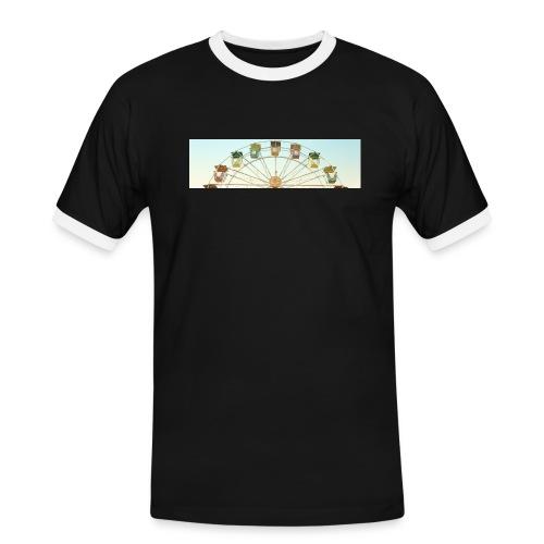 header_image_cream - Men's Ringer Shirt