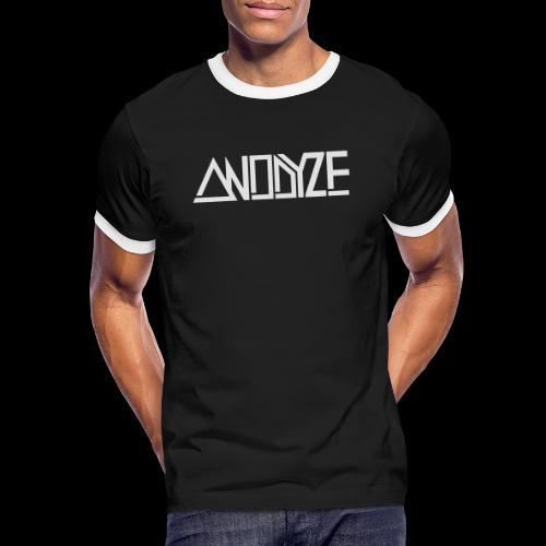 ANODYZE Standard - Männer Kontrast-T-Shirt