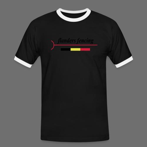 Flanders Fencing BE - Mannen contrastshirt