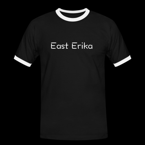 East Erika logo - Maglietta Contrast da uomo