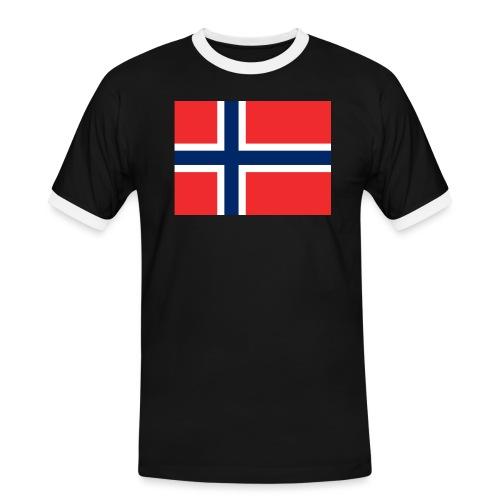DixieMertch - Kontrast-T-skjorte for menn