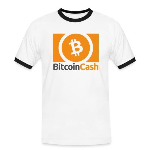 Bitcoin Cash - Miesten kontrastipaita