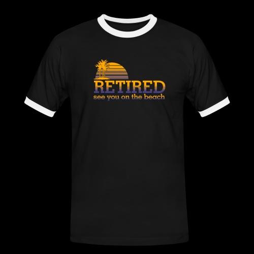 Retraite - T-shirt contrasté Homme