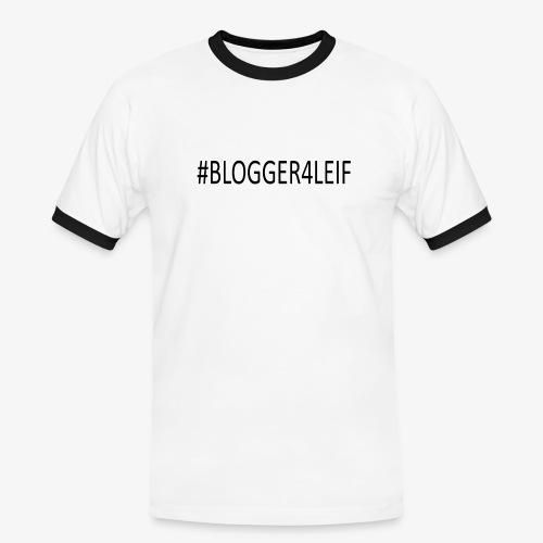 #Blogger4leif - Herre kontrast-T-shirt