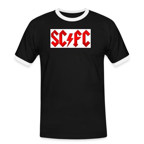 scfc acdc style red - Men's Ringer Shirt